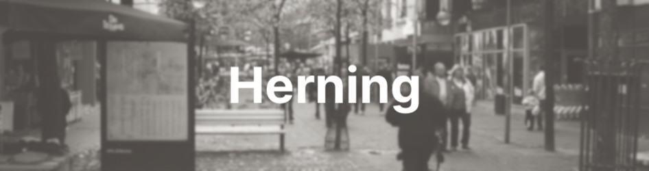 Herning by gågade - find rengøring i Herning